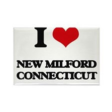 I love New Milford Connecticut Magnets