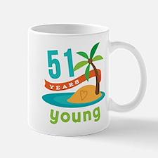 51st Birthday (Hawaiian) Mug