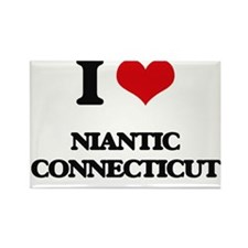 I love Niantic Connecticut Magnets