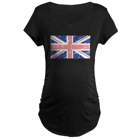 Vintage UK Maternity Dark T-Shirt