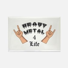 Heavy Metal 4 Life Magnets