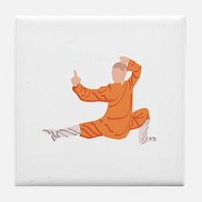 Kung Fu Tile Coaster