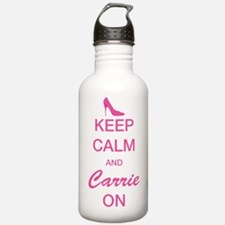 SATC: Carrie On Water Bottle