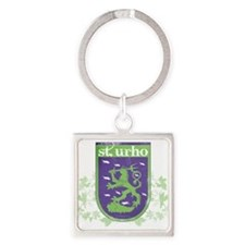 Cute Urho Square Keychain