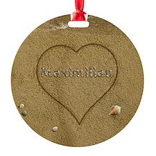Maximilian Beach Love Ornament