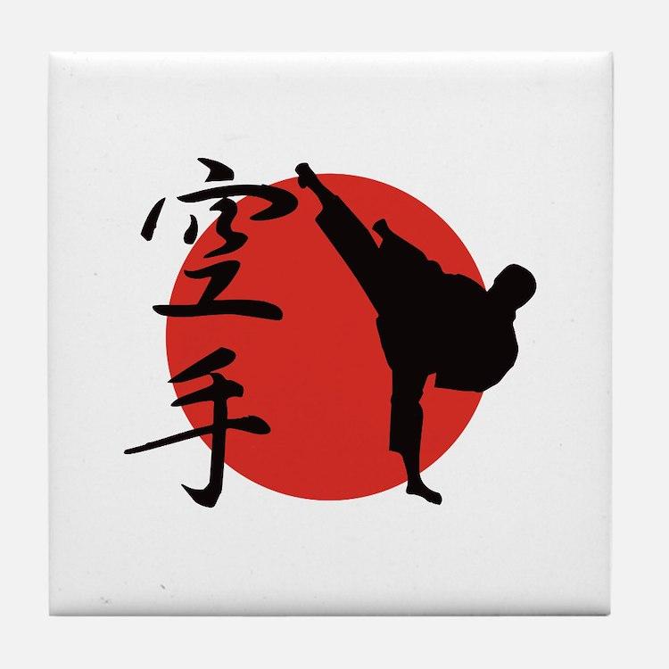 Karate Tile Coaster