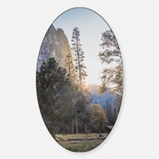 Mountain Meadow Sunset Decal