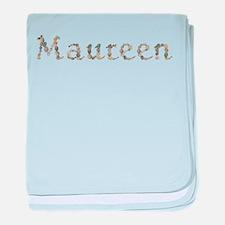 Maureen Seashells baby blanket