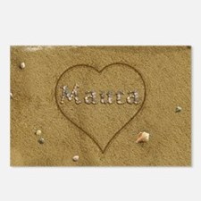 Maura Beach Love Postcards (Package of 8)