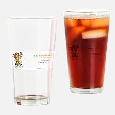 Sally Social Worker 40K Drinking Glass
