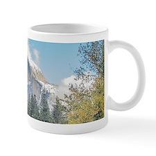 Autumn Mountain & River Scene Small Mug
