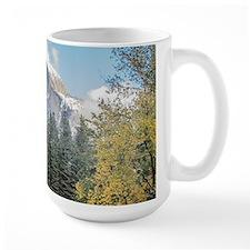 Autumn Mountain & River Scene Mug