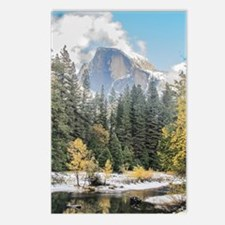 Autumn Mountain & River S Postcards (Package of 8)