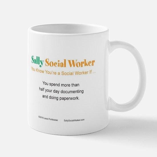 Funny Paperwork Mug
