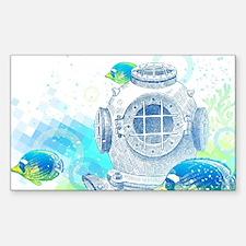 Deep Sea Diver Decal