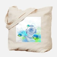 Deep Sea Diver Tote Bag
