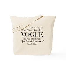 SATC: Vogue For Dinner Tote Bag