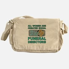 Cute Funeral director Messenger Bag