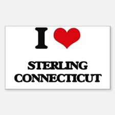 I love Sterling Connecticut Decal
