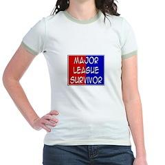 'Major League Survivor' Jr. Ringer T-Shirt