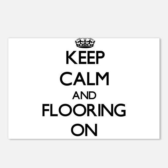 Keep Calm and Flooring ON Postcards (Package of 8)