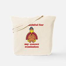 Cancer Remission Tote Bag
