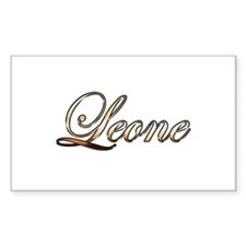 Gold Leone Decal
