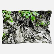 Rocks, Roots and Leaves Pillow Case