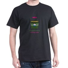 Happiness is watering a plant water bucket T-Shirt