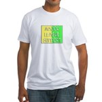 'Major League Support' Fitted T-Shirt