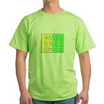 'Major League Support' Green T-Shirt