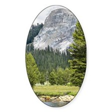 Mountain River Scene Decal