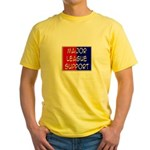 'Major League Support' Yellow T-Shirt