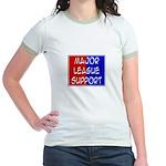 'Major League Support' Jr. Ringer T-Shirt
