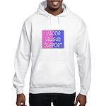 'Major League Support' Hooded Sweatshirt