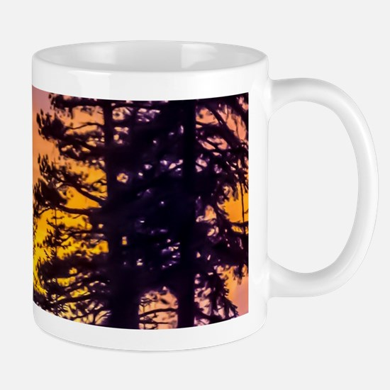 Evergreen Sunset Mug