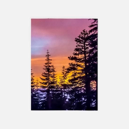 Evergreen Sunset 5'x7'Area Rug