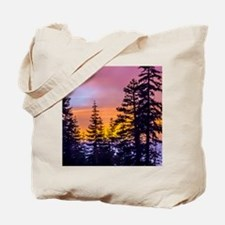 Evergreen Sunset Tote Bag