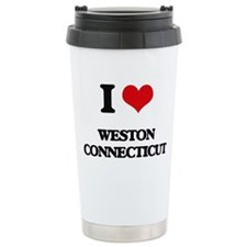 I love Weston Connectic Travel Mug