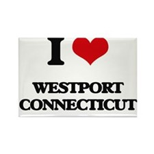I love Westport Connecticut Magnets