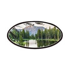 Peaceful Mountain Pond Patch