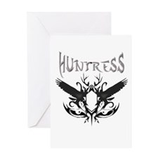 huntress t-shirts and gifts Greeting Card