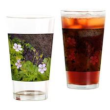 Woodland Wildflowers Drinking Glass