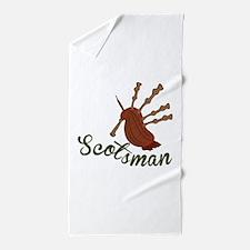 Scotsman Beach Towel