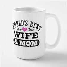 World's Best Wife & Mom Coffee Mug