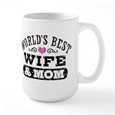 World's Best Wife & Mom Mug