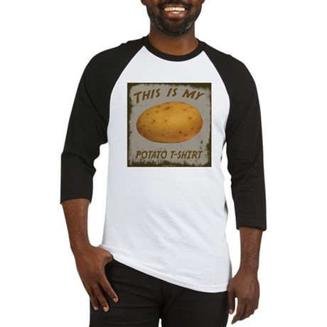 My Potato T-Shirt Baseball Jersey