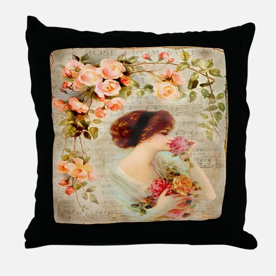 Rose from you Throw Pillow