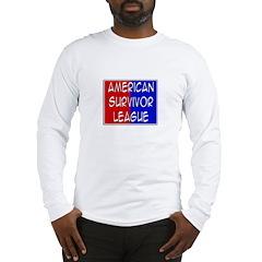 'American Survivor League' Long Sleeve T-Shirt