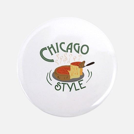 "Chicago Sign 3.5"" Button"